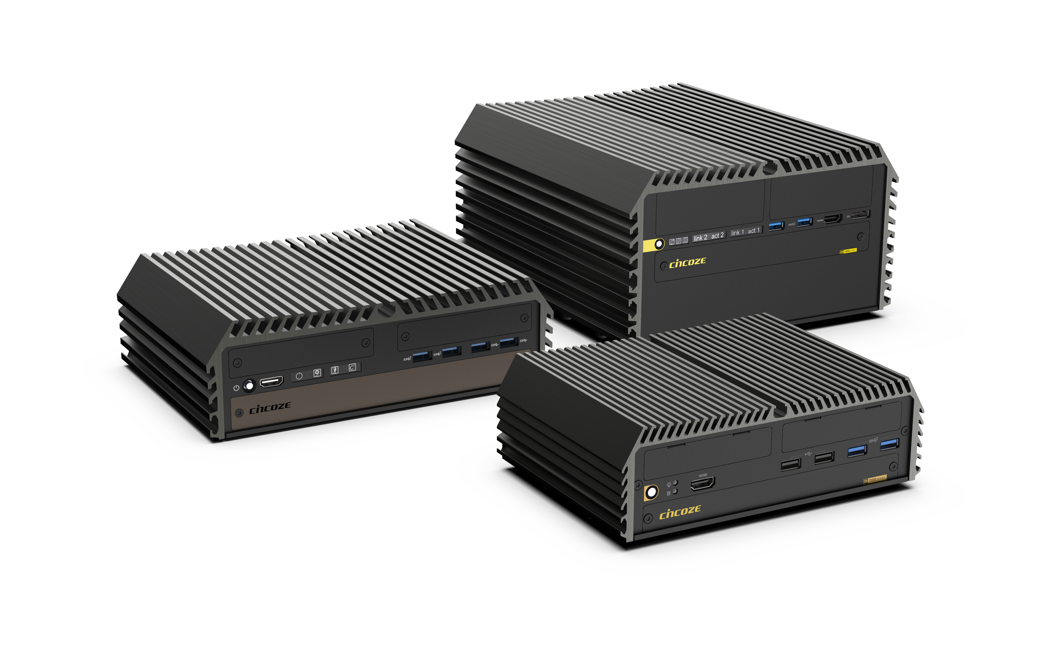 Rugged Embedded Fanless Computer