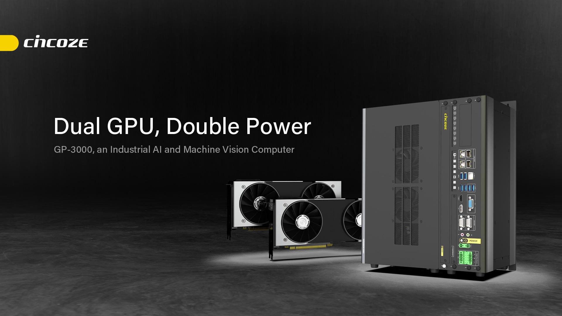 GP-3000 Series │ Dual Full-length GPU Expandable Computer