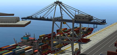 Panamax STS Crane Simulator