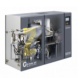 rotary tooth air compressors-oil-free