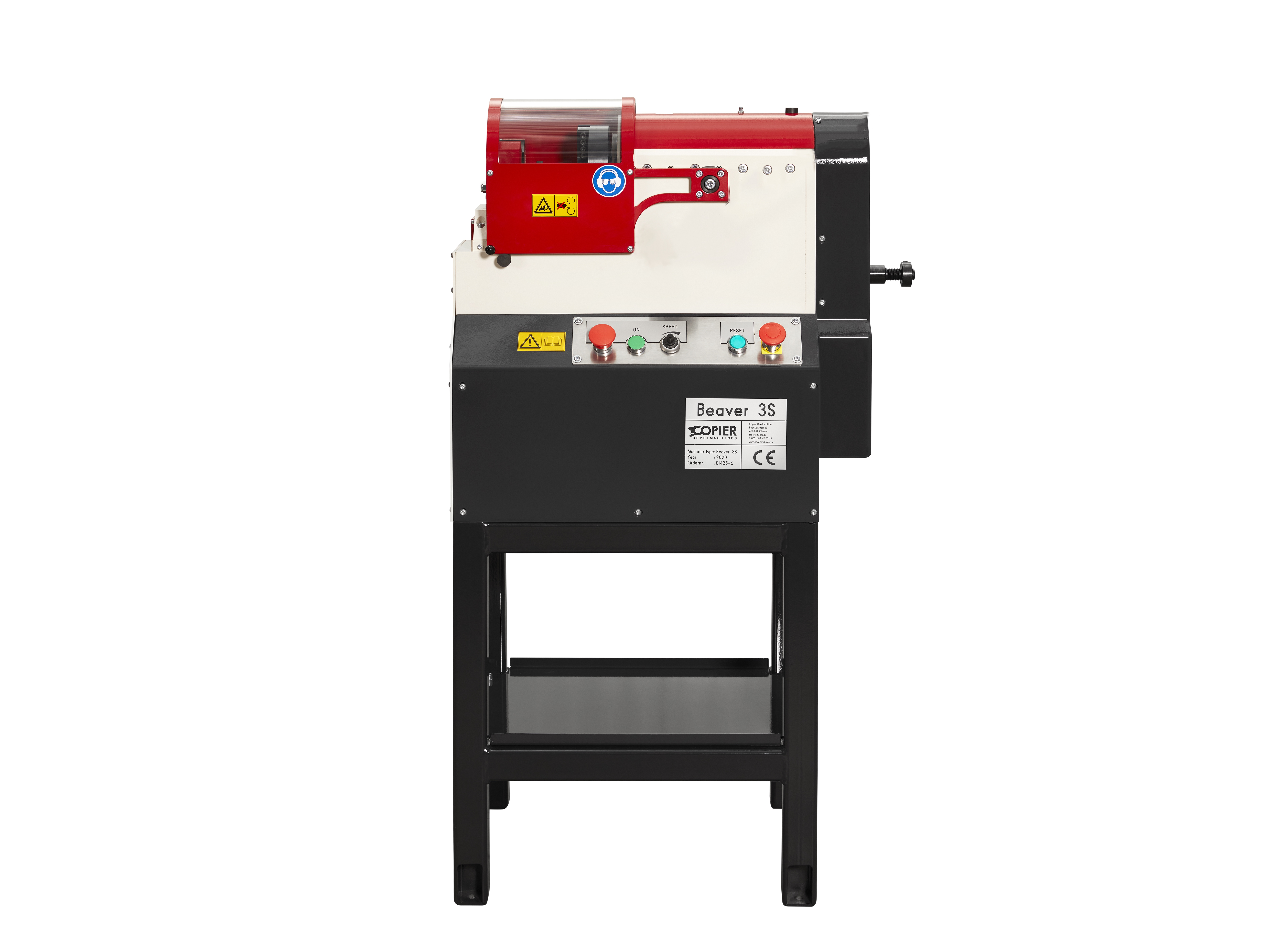 Beaver 3 S Automatic stationary  beveling  and chamfering machine for pipes tubes and bars up to outside diameter 3 inch