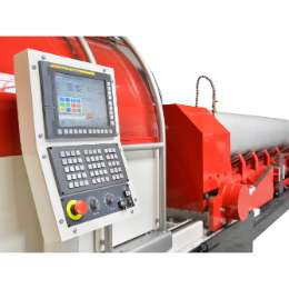 Beaver 8 CNC Stationary beveling  and pipe finishing machine for pipes tubes and bars up to outside diameter 8 inch