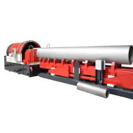 Beaver 16 CNC Stationary beveling  and pipe finishing machine for pipes tubes and bars up to outside diameter 16 inch