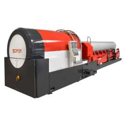 Beaver 24 CNC Stationary beveling  and pipe finishing machine for pipes tubes and bars up to outside diameter 24 inch