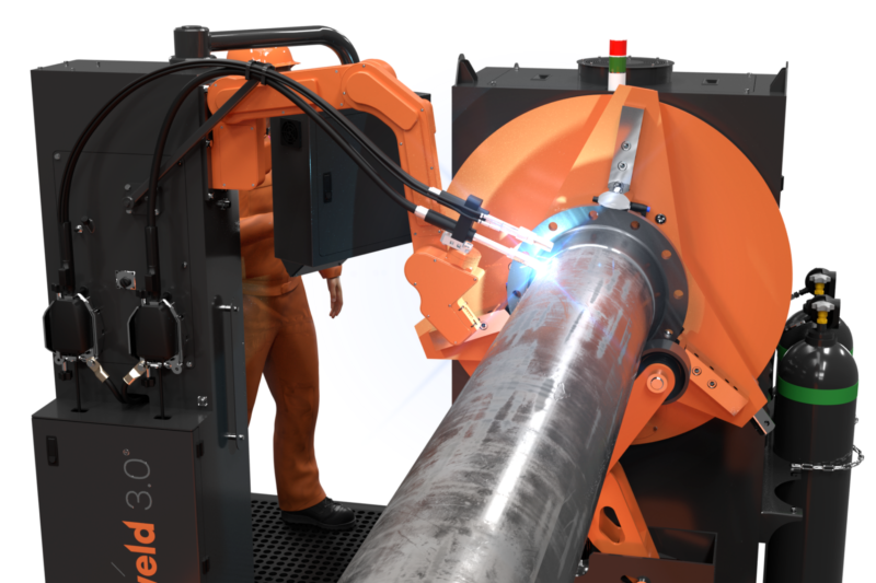 Rotoweld 3.0 Single Bay - Automated Pipe Spool Welding Solution for GMAW, SAW, FCAW / MCAW, for pipes up to 1065mm diameter