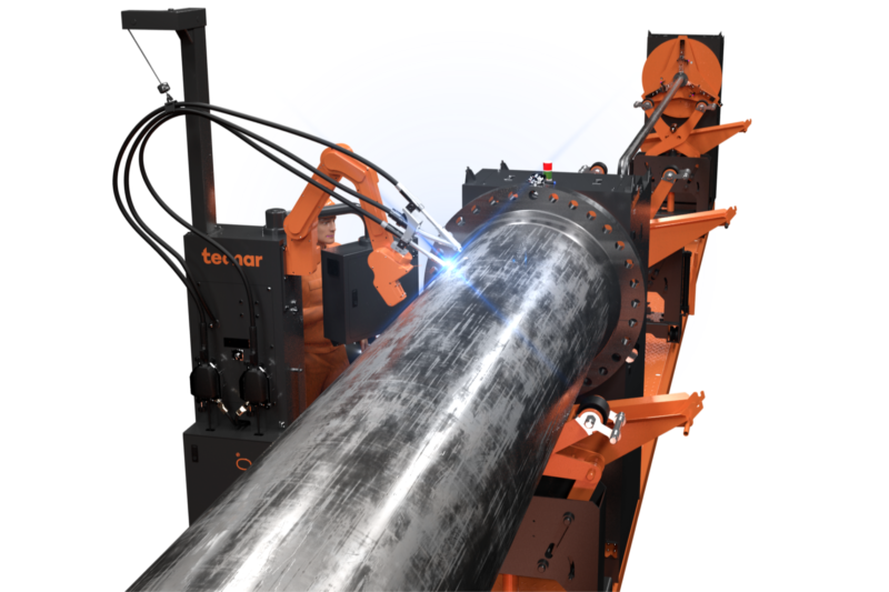Rotoweld 3.0 Twin Bay - Automated Pipe Spool Welding Solution for GMAW, SAW, FCAW / MCAW, for pipes up to 1065mm diameter