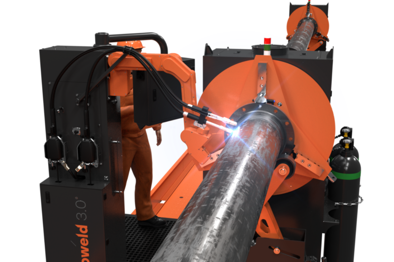 Rotoweld 3.0 Twin Bay HD Automated Pipe Spool Welding Solution