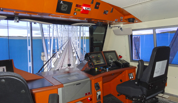 Freight trains|simulator|for driver training