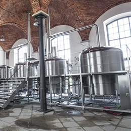 Small industrial breweries-11000-40000 hl per year