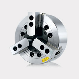 va 3-jaw wedge type non through-hole power chuck