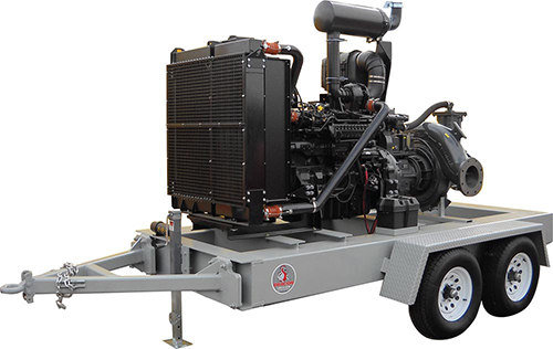Large Mobile Water Transfer Pumps