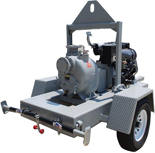 Mobile Diesel Engine Trash Pumps
