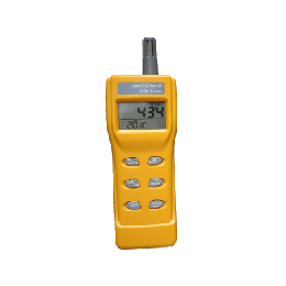 Portable CO2 Gas Detector & Temperature Sensor
