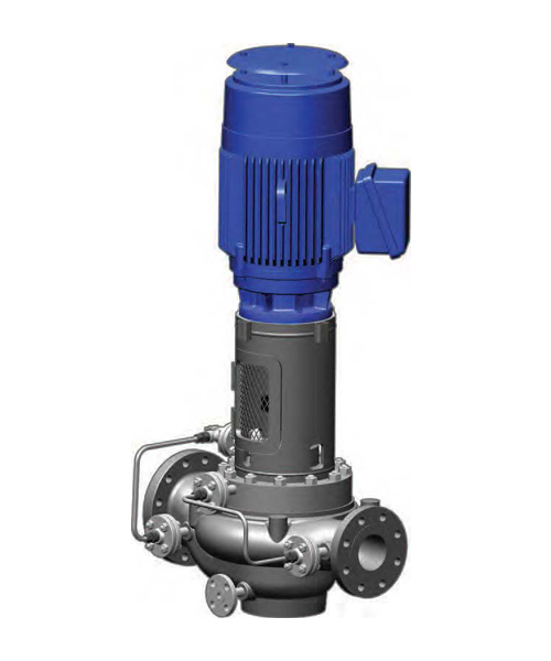 API 610 Vertical In-Line Single Stage OH4 Pump Model PWI