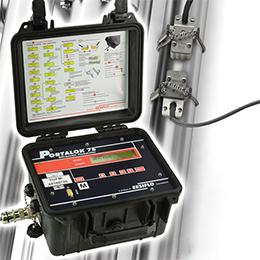 portable flow meter portalok 7s