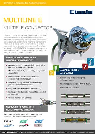 Multiline E Multiple Connector