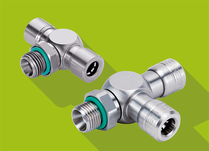 Stainless Steel Push-In Fittings - Eisele INOXLINE