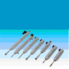 Linear motion potentiometer