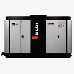 of series oil-free screw compressor 60-500hp