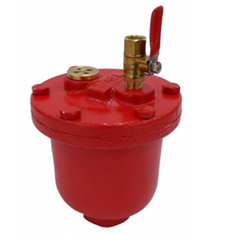 Air Vent Valve for Fire Protection
