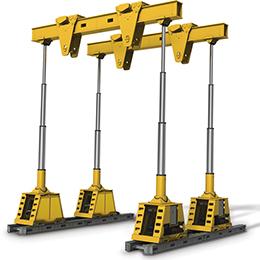 sl60 600 kn hydraulic gantry