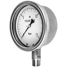Stainless Steel Pressure Gauge (Dry)