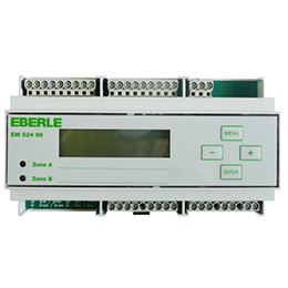 eberle em-524 90 controllers for guttering and outside surface heating