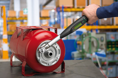 Measurement of tightening torque