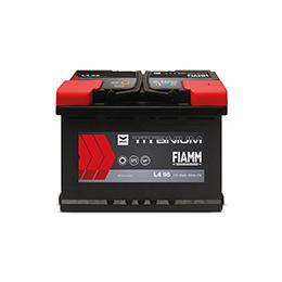 Black TITANIUM-Battery