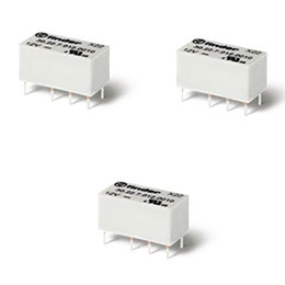 series 30-subminiature dil relays 2 a
