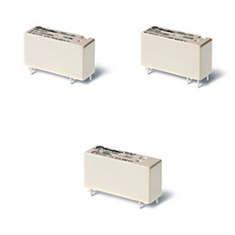 series 43-low-profile pcb relays 10-16 a