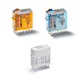 series 46-miniature industrial relay 8-16 a
