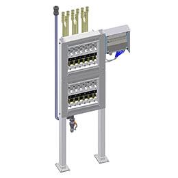 fo-oilflow variable area oil flow meter
