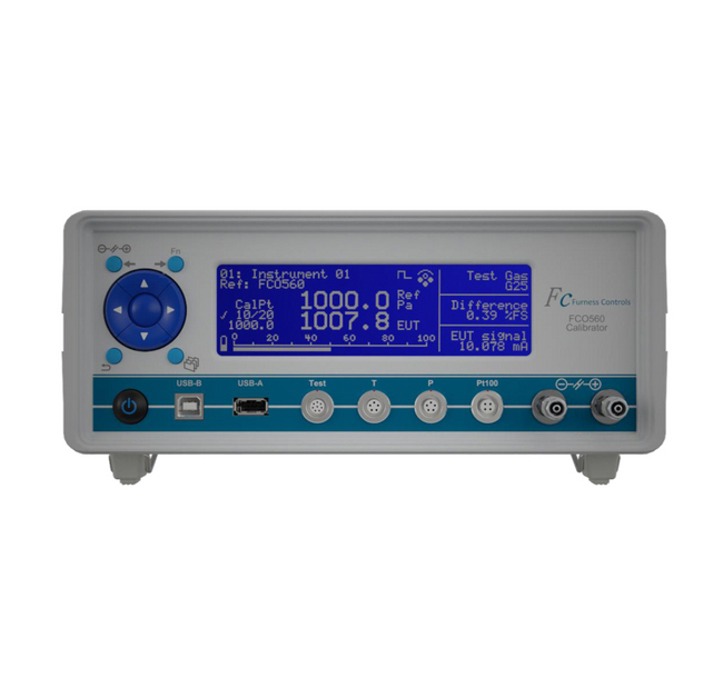 1035 FCO560 20000 Pascal (Pa) Pressure Range Flow Calibrator