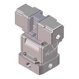 Double solenoid valve