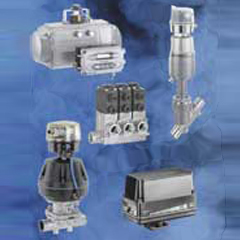 Automatic valves and actuators
