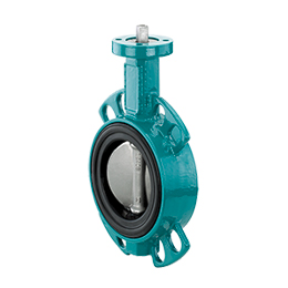 Butterfly valve with bare shaft 480