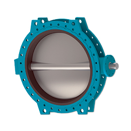 Butterfly valve with bare shaft C480