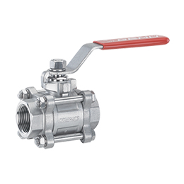 Manually operated ball valve 712