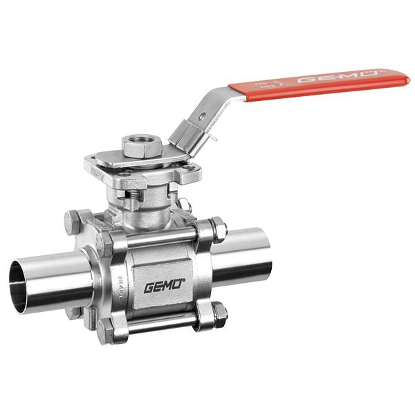Manually operated ball valve 740
