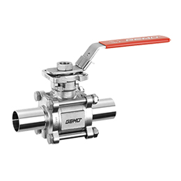Manually operated ball valve 740