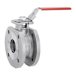 Manually operated ball valve 762
