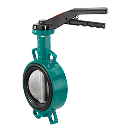 Manually operated butterfly valve 487