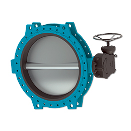 Manually operated butterfly valve C487