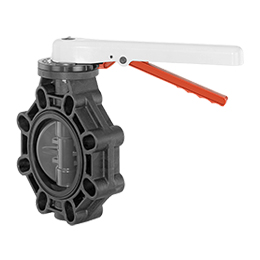 Manually operated butterfly valve D457
