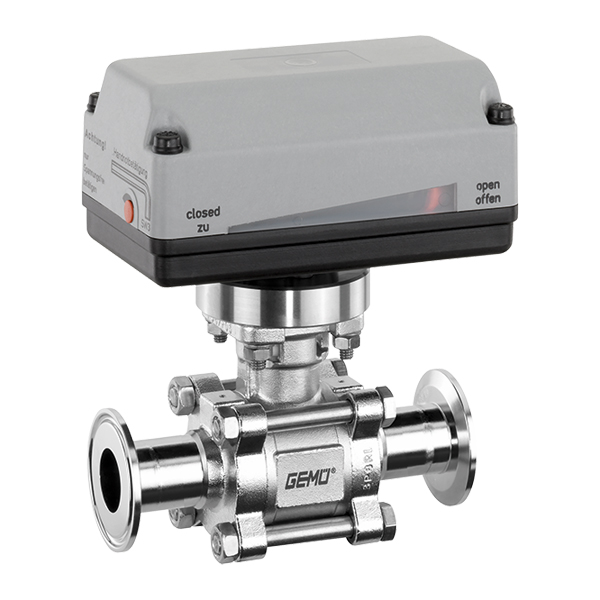Motorized ball valve 748