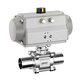 Pneumatically operated ball valve 741