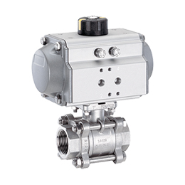 Pneumatically operated ball valve 751