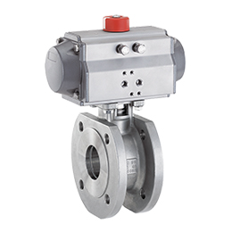 Pneumatically operated ball valve 761