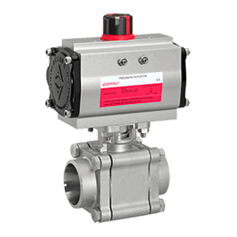 Pneumatically operated ball valve 791
